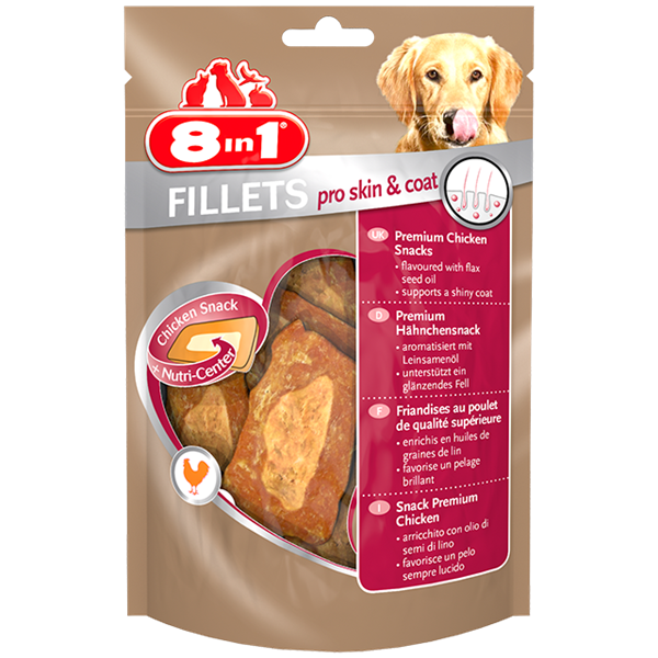 8in1 - Fillets Pro Skin & Coat Chicken S 80g