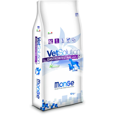 MONGE -  VetSolution Dog Gastrointestinal Adult 2 & 12Kg