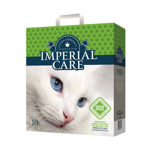 Imperial Care – Litter For Cats Imperial Care Odour Attack Clumping - zoofast-shop