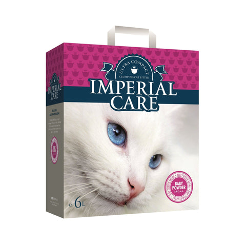 Imperial Care – Litter For Cats Imperial Care Baby Powder Clumping - zoofast-shop