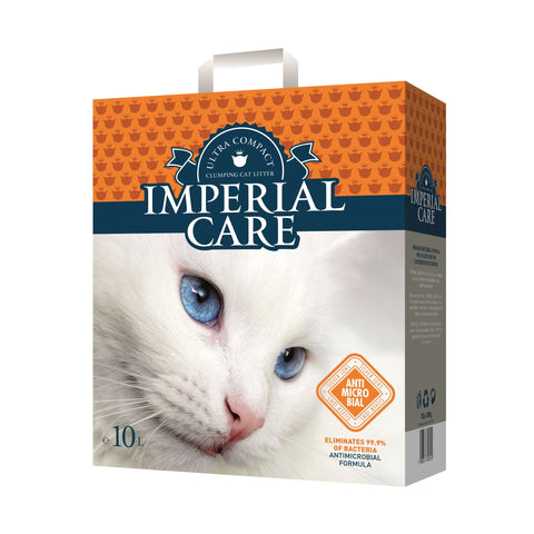 Imperial Care – Litter For Cats Imperial Care Silver Ions Clumping - zoofast-shop