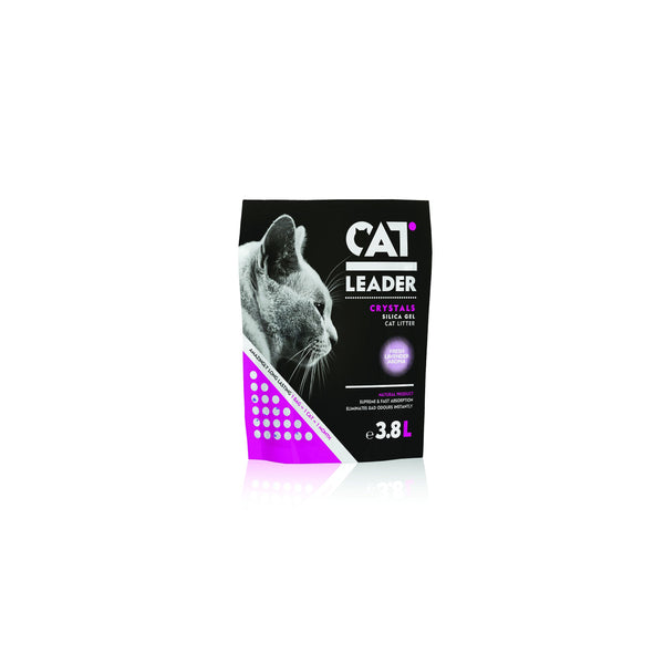 Cat Leader - Litter For Cats Leader Crystals Lavender 3.8L