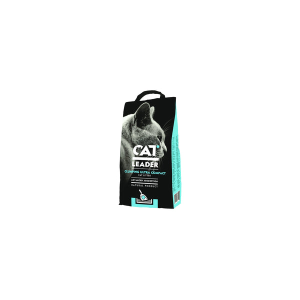 Cat Leader - Litter For Cats Leader Clumping Ultra Compact