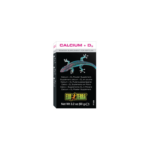 Hagen - Exo Terra Calcium & D3 Supplement For Reptiles 90g - zoofast-shop