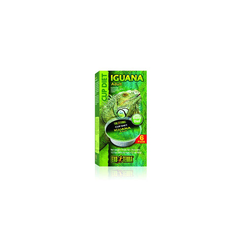 Hagen - Exo Terra Food For Iguana Adult 6x60g - zoofast-shop