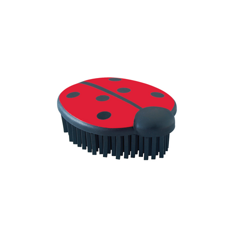 Hunter - Brush For Dog Ladybug Red-Black - zoofast-shop