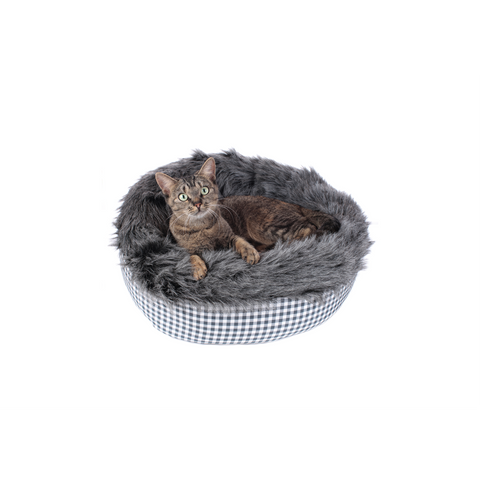 Hunter - Bed For Dog-Cat Astana Checked 50x50cm - zoofast-shop