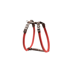 Hunter - Harness In Leather Calgary Elk Chili - zoofast-shop