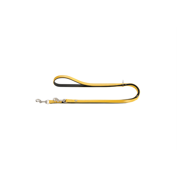 Hunter - Leash For Dog Training Capri Pearl Yellow-Black