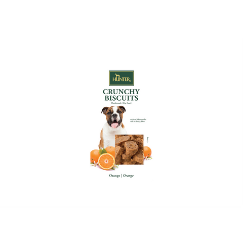 Hunter - Snack For Dog Crunchy Orange Biscuits 150g - zoofast-shop