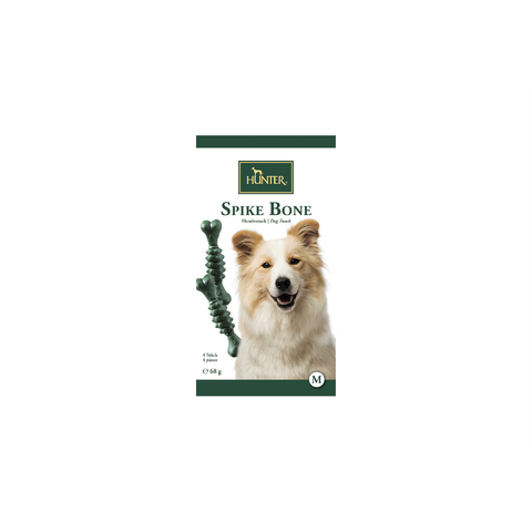 Hunter - Snack For Dog Spike Bone Mint M 4pcs - zoofast-shop