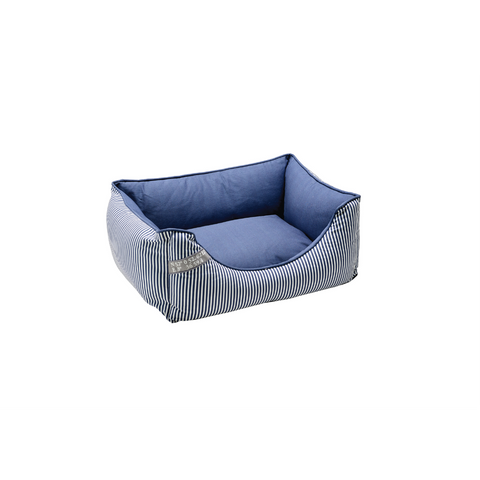 Hunter - Sofa For Dog Midlum Blue-White - zoofast-shop