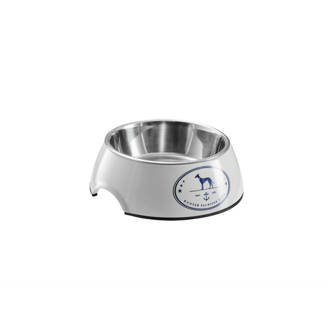 Hunter - Bowl For Dogs Melamine Binz Blue-White - zoofast-shop