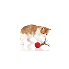Hunter - Toy For Cat Ball Smart Feather And Catnip 5cm - zoofast-shop