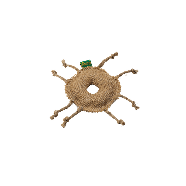 Hunter - Toy For Cat Linen Jute Wheel With Catnip 8cm