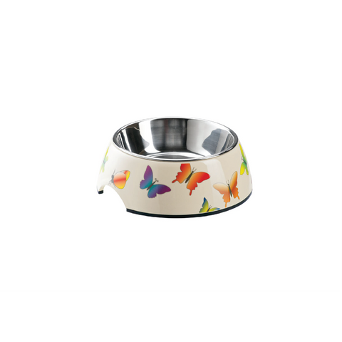 Hunter - Bowl For Dogs Melamine Butterfly - zoofast-shop