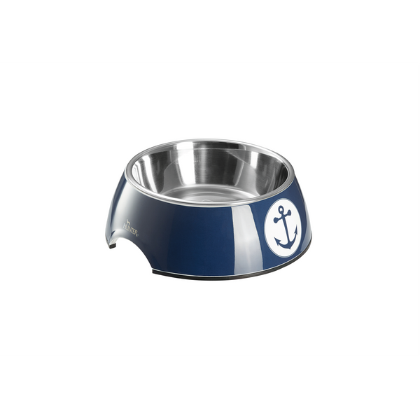 Hunter - Bowl For Dogs Melamine Midlum Blue-White