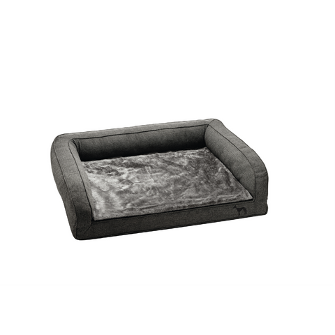 Hunter - Bed For Dog Orthopedic Livingston Anthracite - zoofast-shop