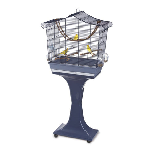 Imac - Cage For Birds Sofia Blue 63x33x61cm - zoofast-shop