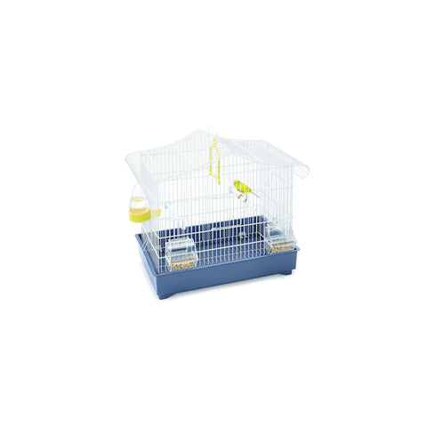 Imac - Cage For Birds Sonia White - Blue - 47cmX29cmX45cm - zoofast-shop