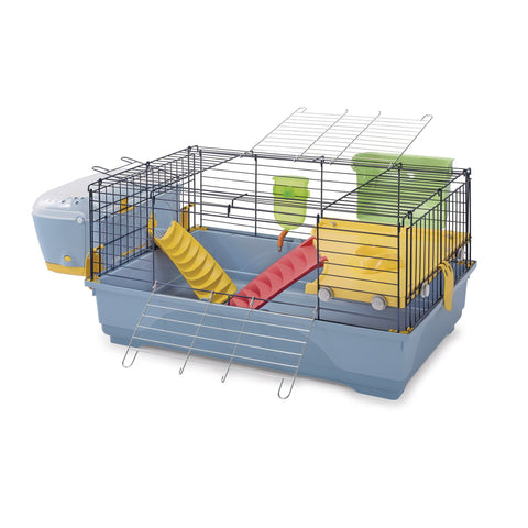 Imac - Cage For Rabbit Easy Plus 80 - 80cmX48.5cmX42cm - zoofast-shop