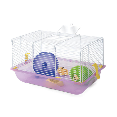 Imac - Cage For Hamster Criceti 2 - 45cmX30.5cmX29cm - zoofast-shop