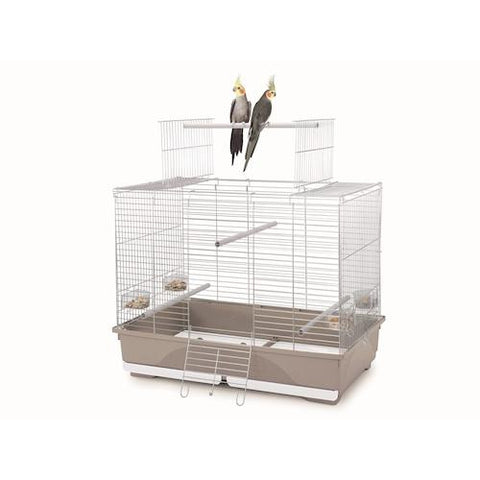 Imac - Cage For Birds Wilma - White-Beige 80.5cmX49cmX65.5cm - zoofast-shop