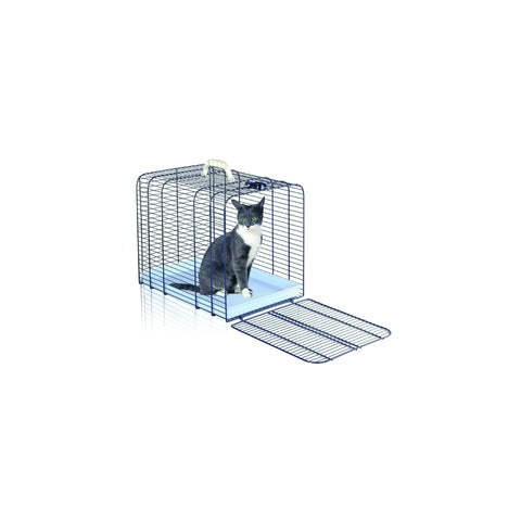 Imac - Travelling Box Metal For Cat Trasporto Gatto - zoofast-shop