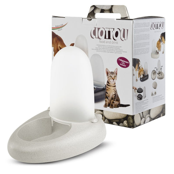 Imac - Feeder Dispenser For Cats Ciottoli 1.5L