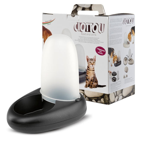 Imac - Feeder Dispenser For Cats Ciottoli 1.5L - zoofast-shop