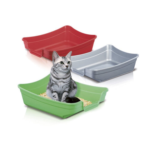 Imac - Cat Toilet Polly Mixed Colours 35x25x10cm - zoofast-shop