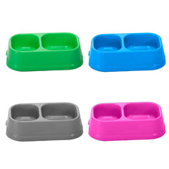 Imac - Bowls In Plastic For Dog Ciotole C22 Mix. Col. 0.8L - zoofast-shop