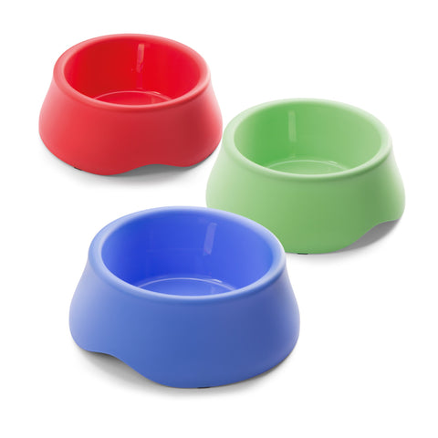 Imac - Bowls In Plastic For Dog Dea 4 Mixed Colours 1L - zoofast-shop
