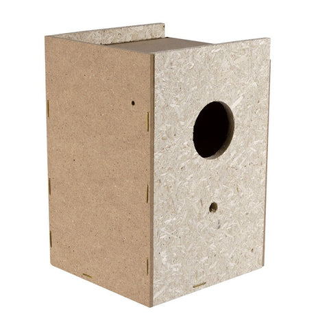 Imac - Bird Nest Wood Beige 11.5x11x17cm - zoofast-shop