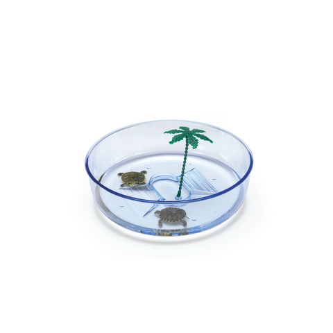 Imac - Aquarium For Turtle Plastic Hydra 22x6.5cm - zoofast-shop