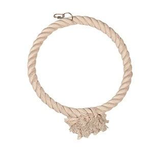 Flamingo - Toy For Birds Cotton Rope 1 Ring - zoofast-shop