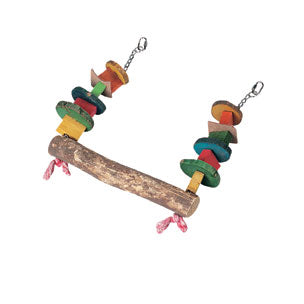 Flamingo - Toy For Parrot Swing W-Beads