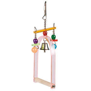 Flamingo - Toy For Birds Cage Hanger Acryl-Swing