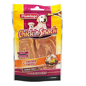 Flamingo - Snack Chick'n Smoked Fillets Chicken & Cheese L 85g
