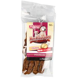 Flamingo - Snack Mini Sausages Chicken 12pcs