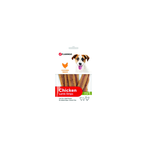 Flamingo - Snack Chick'n Stripes Chicken & Lamb 85g