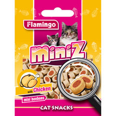 Flamingo - Snack Miniz Cat Mini Bonbons With Chicken 50g - zoofast-shop