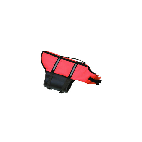 Flamingo - Swim Life Jacket for Dog Black-Orange - zoofast-shop