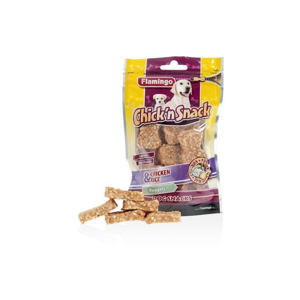 Flamingo - Snack Chick'n Nuggets Chicken & Rice 85g