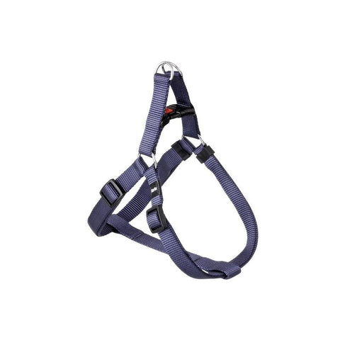Flamingo - Harness Nylon Sportiv Plus Night Blue M 25mm 40-70cm - zoofast-shop