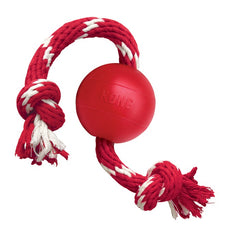 KONG - Ball With Rope - zoofast-shop