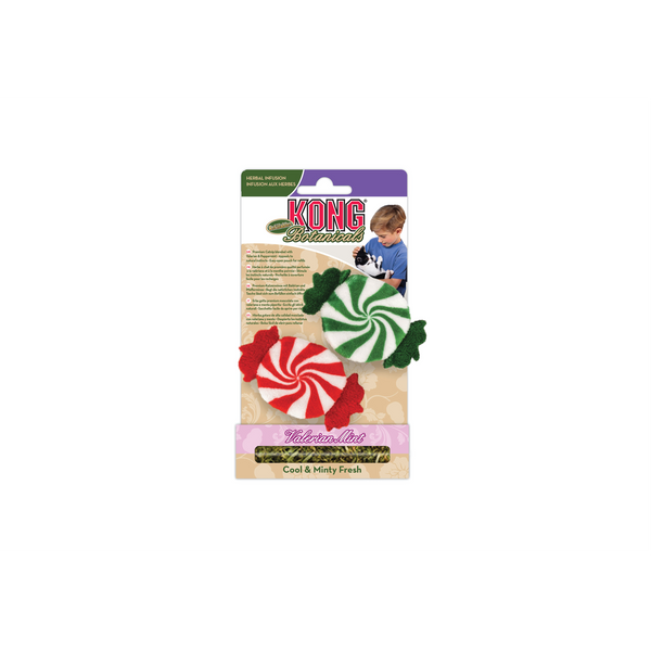 KONG - Holiday Botanicals Refillable Peppermints 2pcs