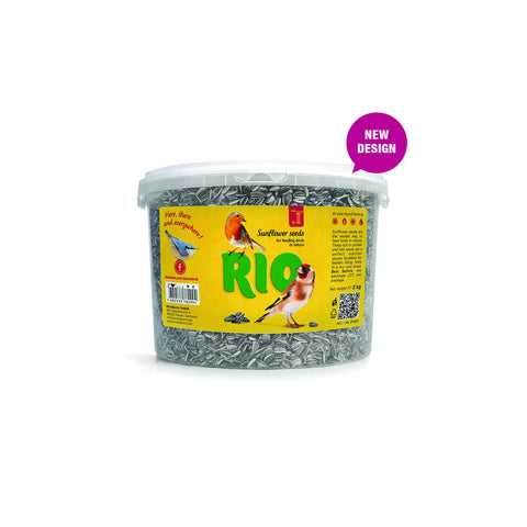 RIO - Sunflower Seed In Bucket 2kg - zoofast-shop