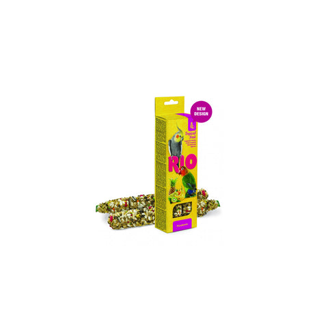 RIO - Sticks For Parakeets With Tropical Fruit 2x75g - zoofast-shop