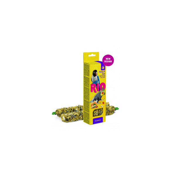 RIO - Sticks For Parakeets With Honey & Nuts 2x75g